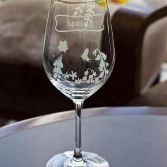 【四季の花の結晶赤/白ワイン1杯]は人生の2個々の風景を設定し、そのユニークな美しさの結婚式の乾杯を持っています