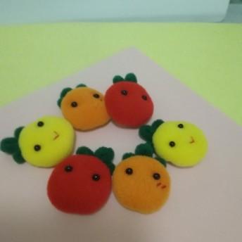 プチトマトクリップ(赤、オレンジ、黄色)3個セット
