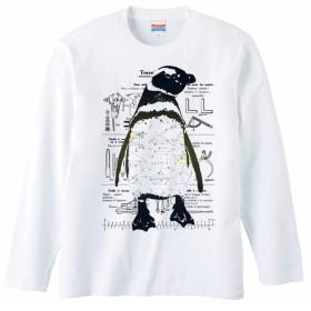 [ロングスリーブTシャツ] Equation Penguin