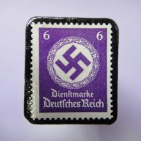 ドイツ 1934年 切手ブローチ723