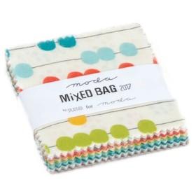 USAコットン moda mini charm 42枚セット MiXED BAG 2017