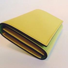 レモンライムカードケース(受注製作)