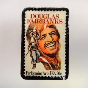 アメリカ 切手ブローチ 2685