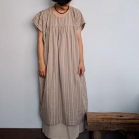 ヒッピースタイルのドレス