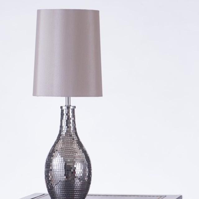 モザイクメタルテーブルランプ-BNL00081