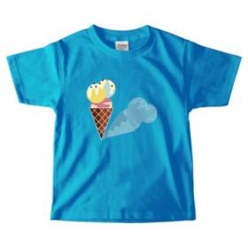 子供用キッズベビーTシャツ*アイスクリーム