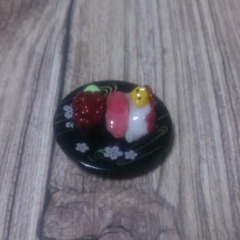 ミニチュアお寿司 いくら+中トロ+タコ