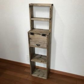 SLIM:display shelf cabinet EE h112 上段飾り棚付きキャビネット