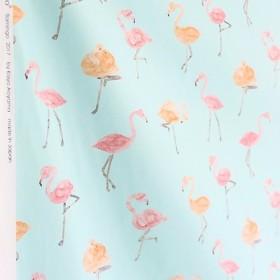 [カット済 50cm×50cm] flamingo(ライトブルー)