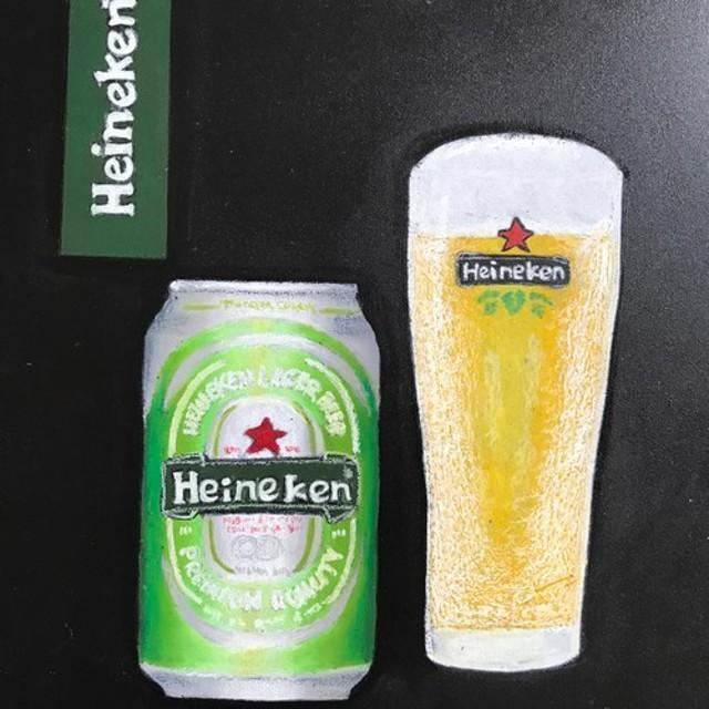 酒ボード ハイネケンビール