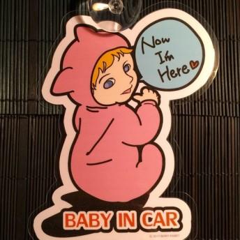 値下げしました!baby in car ステッカー/babyincar 赤ちゃん 吸盤