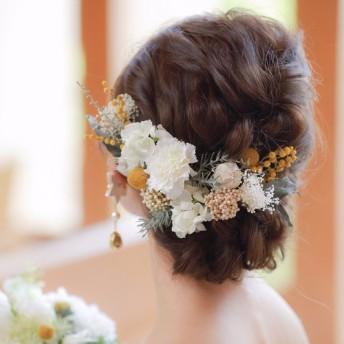 Mimoza  bridal head dress