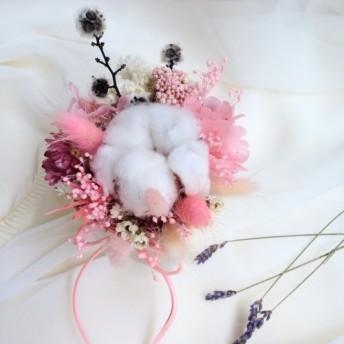プリンセスピンクの綿のテーブルの花 乾燥したアジサイの花+母の日のために韓国妖の誕生日プレゼントの永遠部門を過ごします