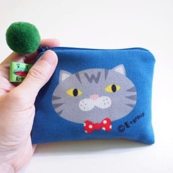 E グループの小さな四角いパッケージ両面デザイン(猫)コインケースキーバッグカードパッケージ猫ギフトギフト価格$ 350割引$