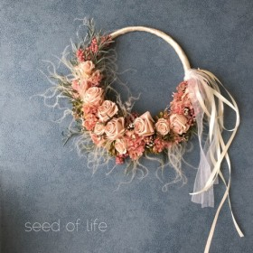 *Wreath bouquet* リースブーケ プリザーブドフラワー