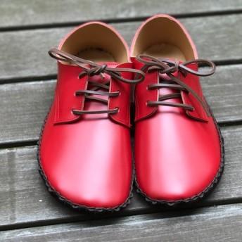 ヒモの靴 踏んでもカカトを入れても快適な革靴 24センチ