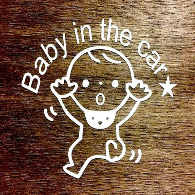 Baby in car 赤ちゃん(3)