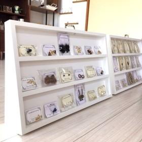 アクセサリー 小物の収納 ホワイト 陳列棚 ディスプレイ