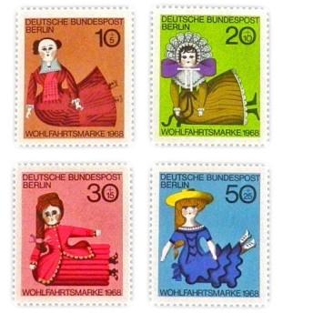 ドイツシリーズ切手(人形)Germany DA-STE083