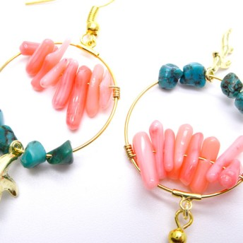 sea/coral turquoise