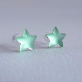 VINTAGE Étoile Pierce/Earrings Green