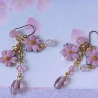 桜の耳飾り