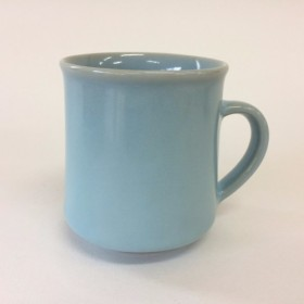 月白青磁角マグカップ