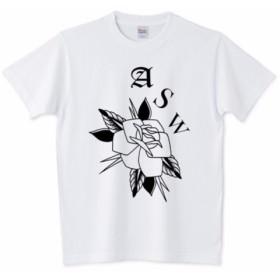 ROSE ASW Tシャツ レトロ ヴィンテージ クラシック