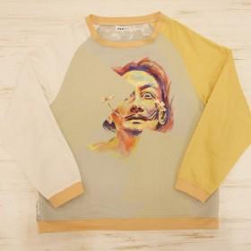 Dali handpaint sweatshirt