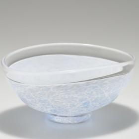楕円鉢 (ライトブルー)