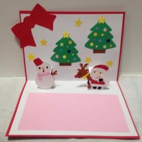 クリスマスバージョンカード!装飾としても使えますよ!