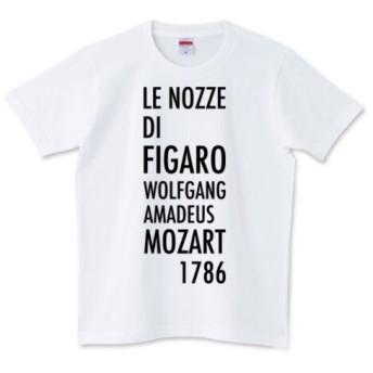 歌劇《フィガロの結婚》オリジナルTシャツ