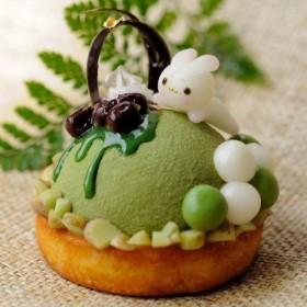 スウィートドリーム☆☆ウサギ宇治ときミッドマットゴールドミラーケーキミックス/純粋な装飾