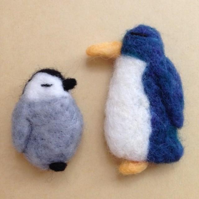 親子ペンギンマグネット