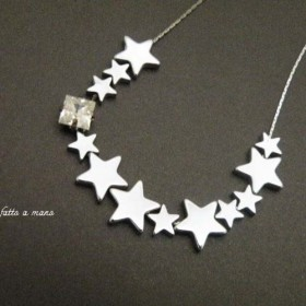 【Sale】Shooting Star Necklace(Silver)