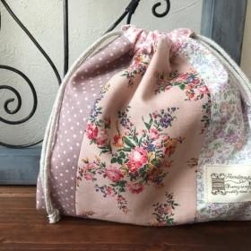 ミニ巾着*ピンク系(1)