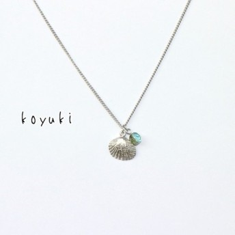Shellネックレス Silver