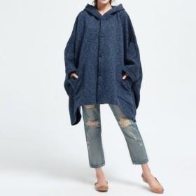 お色選択 大人の可愛いゆったりジャケット・コート