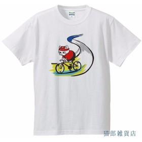猫Tシャツ 猫郎ーどバイク 150 XL