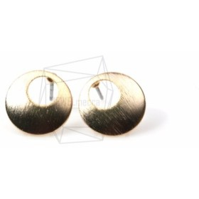 ERG-548-MG【2個入り】ミニシックフープピアス,Mini Thick Hoop Earring Post