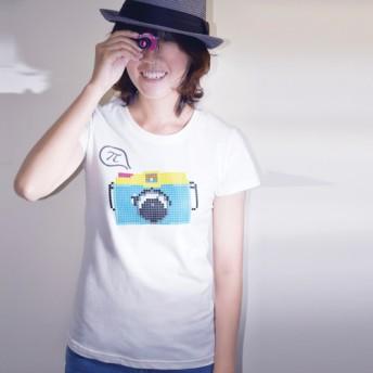buyMood白目叮 Tシャツ/Camera Talks Women's T-Shirt