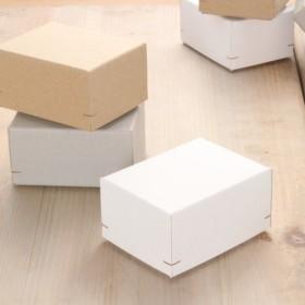 【1箱】角留め箱 ギフトボックス(M50)75×100×52mm ブローチ 人形 羊毛フェルト 日本製 B022-024