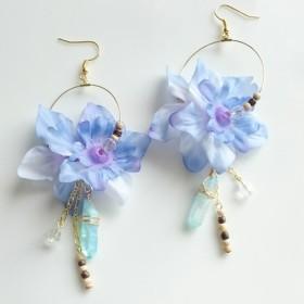 flower/blue