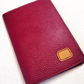 (受注作成)お薬手帳ケース ADRIA Dahila 外側ポケット付き