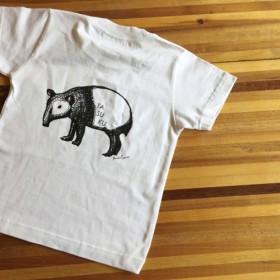 名前入り可能 ★バクのお散歩Tシャツ