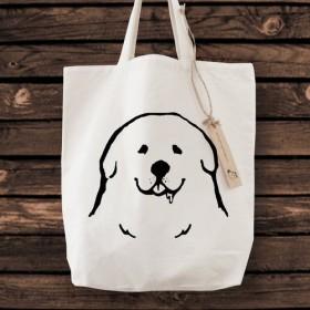 グレートピレニーズ トートバッグ 犬