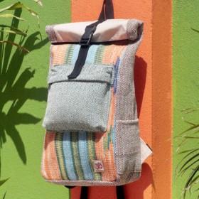 モロッコのカーペット自由奔放に生きるの空国民の風 - 限定版の贈り物七夕手ステッチのデザインのコットンバックパック/ショルダーバ