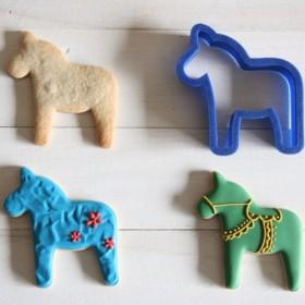 馬クッキー型・クッキーカッター