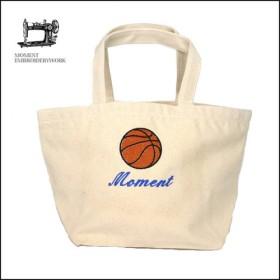 名入れ刺繍 バスケットボール ミニトートバッグ