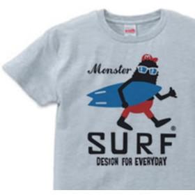 【再販】サーフ・モンスター S XL Tシャツ【受注生産品】